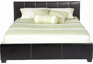 Belfair Brown 3 Pc Queen Bed - Beds Dark Wood