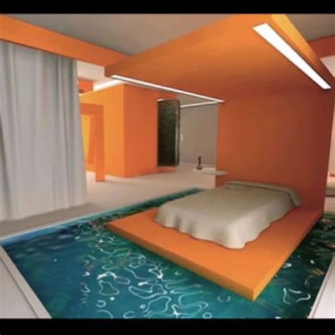crazy bedroom home decor pool bedroom awesome
