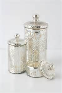 mercury glass bathroom canisters knowledgebase