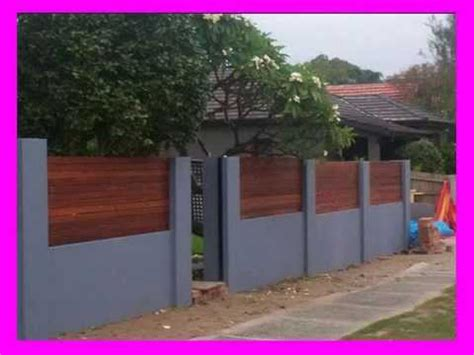 creative fence design youtube