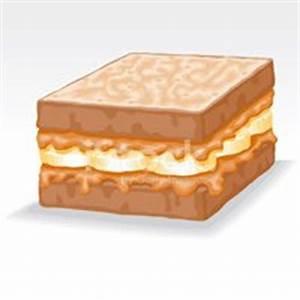 Peanut Butter and Banana Sandwich stock vectors - Clipart.me