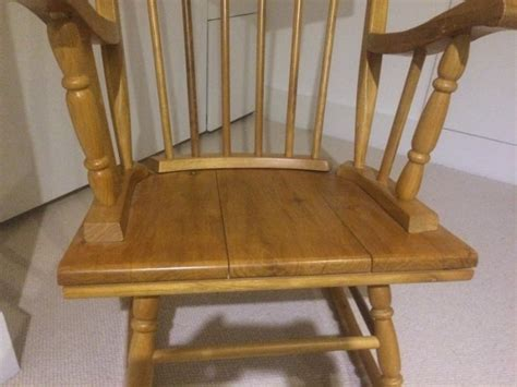 Antique Pine Rocking Chair For Sale In Tallaght, Dublin