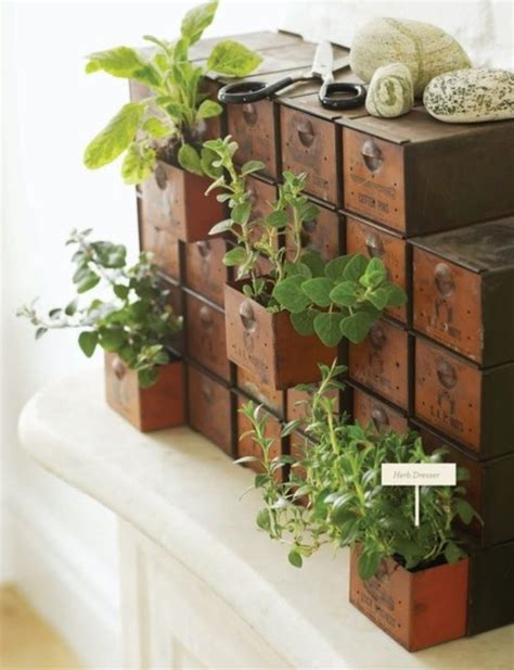 18 creative and easy diy indoor herb garden ideas
