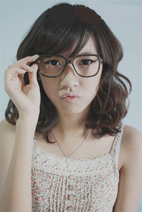 model rambut wanita ala korea  tata rambut