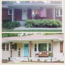 174 Best Images About Ugly House Makeovers On Pinterest