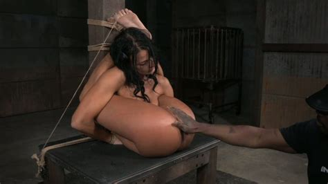Flexible Slave Girl London River Punished For Being Beautiful
