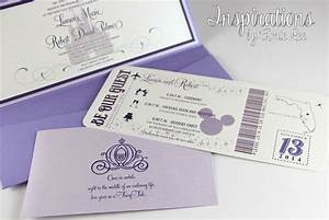 disney wedding invitations With disney passport wedding invitations