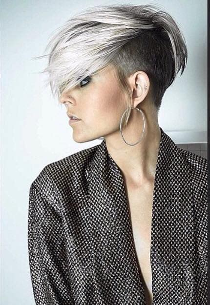 einfache wunderbar haarschnitte undercut frisuren frau