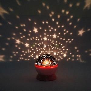 Rotating ceiling light projector : New beautiful rotation night projector light lamp star sky