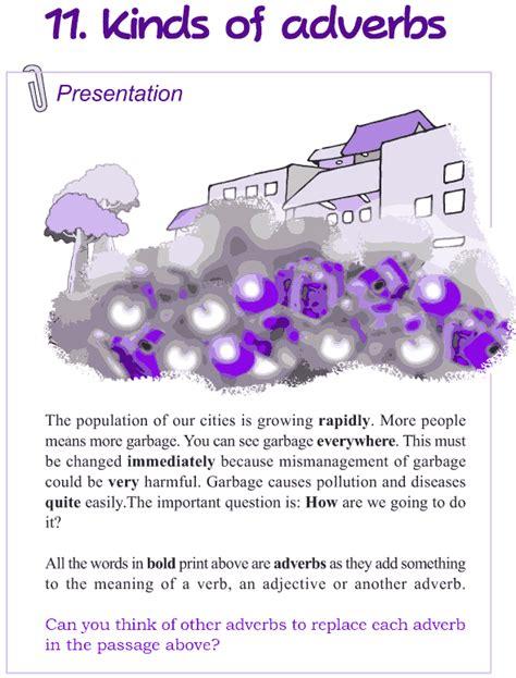 grade 4 grammar lesson 11 kinds of adverbs grammar