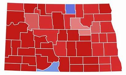 Dakota North Governor Election Svg County Results
