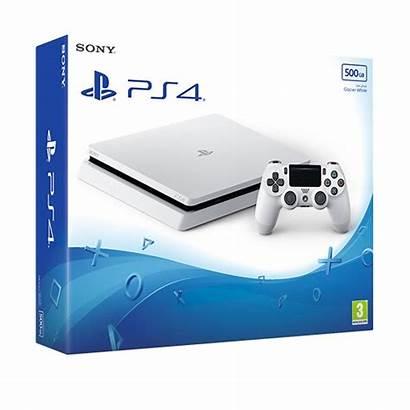 Ps4 Slim Console 500gb Glacier Playstation Games