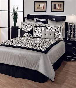 bricolage e decoracao decorar um quarto de casal em preto With black white and silver bedroom ideas