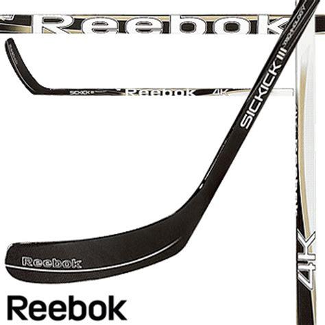 reebok 4k sickick iii composite hockey stick gold graphics version jr