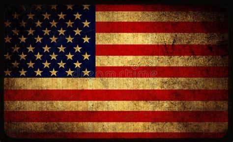 usa flag stock illustration illustration  dirty rustic