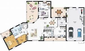 Plan Grande Maison : plan maison americaine 2 tages ventana blog ~ Melissatoandfro.com Idées de Décoration