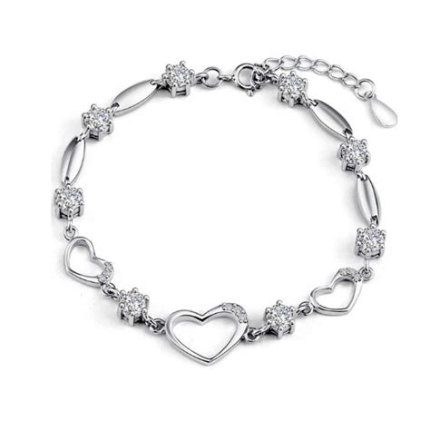 100% 925 Sterling Silver Bracelet Women Cz Crystal Heart. Electronic Watches. Roman Numeral Bracelet. 10 Inch Gold Anklet. Fork Pendant. Indie Rings. Large Elephant Necklace. V Shaped Necklace. Two Toned Wedding Rings
