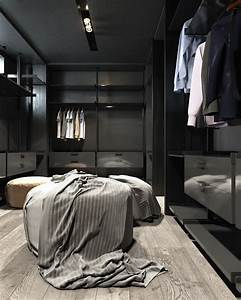 3, Amazing, Dark, Bedroom, Interior, Design