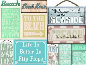 beach house wood quote home sign beach decor beach sign