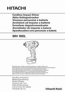 Hitachi Wh 10 Dl Tools Download Manual For Free Now