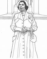 Coloring Rosa Parks History Famous Clipart African Month Printable Sheets Walker Madam Cj Adults Anderson Adult Activities Historical Popular Clip sketch template