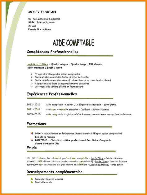 Cv Type by Cv Type Comptable