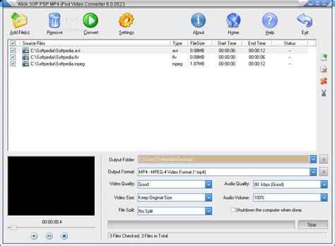 Allok 3gp Psp Mp4 Ipod Video Converter Portable Incl Crack