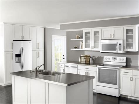 cabinet colors with stainless steel appliances pictures of white kitchens with stainless steel appliances