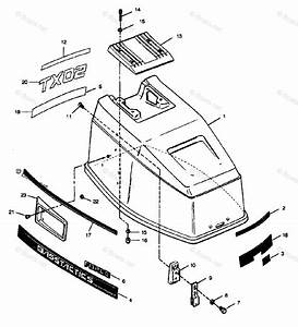 Mercury Force Outboard Parts By Hp  U0026 Serial 50hp Oem Parts Diagram For Engine Cover Cajun Models