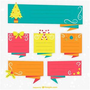 colorful christmas label templates vector free download With colorful labels templates