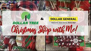 Dollar, Tree, And, Dollar, General, Christmas, Shop, With, Me