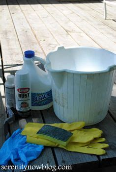 Metal Patio Furniture Cleaner by Cleaning Patio Furniture On Cleaning Outdoor