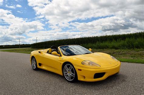Ferrari Spider Gated Manual Wheels