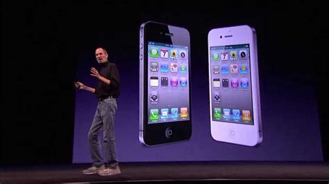 iphone 4 for apple wwdc 2010 iphone 4 introduction