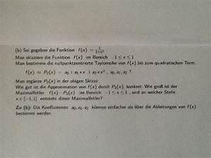 Unendliche Reihen Berechnen : taylorreihe taylorreihe unendliche reihe f x 1 1 x 2 skizzieren nullpunktzentrierte ~ Themetempest.com Abrechnung