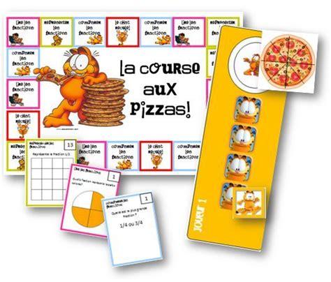 jeux de cuisiner des pizzas la course aux pizzas jeux sur les fractions jeux