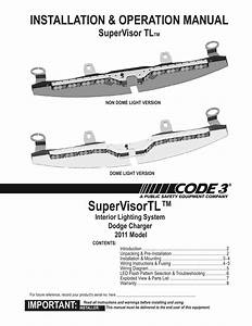 Bl 4137  Code 3 Light Bar Wiring Diagram Federal Signal