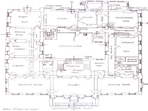 floor plans for mansions 24 beautiful mansions floor plans house plans