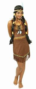 Indianer Damen Kostüm : kost m indianerin squaw indianerkost m faschingskost m gr 36 38 40 42 44 46 ebay ~ Frokenaadalensverden.com Haus und Dekorationen