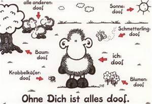 Ohne Dich Ist Alles Doof : sheepworld ohne dich ist alles doof postkarte ~ Watch28wear.com Haus und Dekorationen