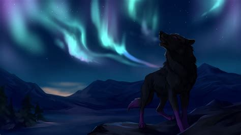 fantasy wolf mountains  ultra hd wallpapers