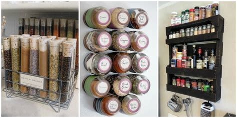 Spice Rack Ideas by How To Organize Spices Diy Spice Rack Ideas