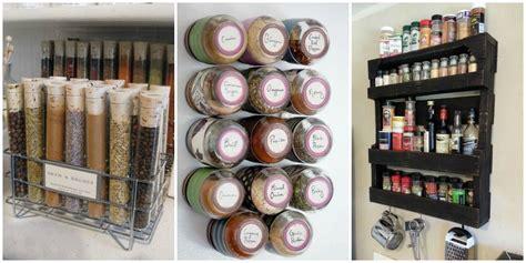 How To Organize Spices  Diy Spice Rack Ideas