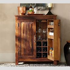Bowry Bar Cabinet  Pottery Barn