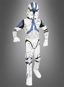 Star Wars Kinder Kostüm : clone trooper kost m star wars ~ Frokenaadalensverden.com Haus und Dekorationen