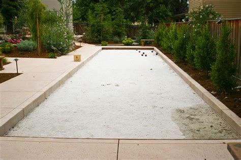backyard bocce court dimensions 17 best images about bocce plans on bocce