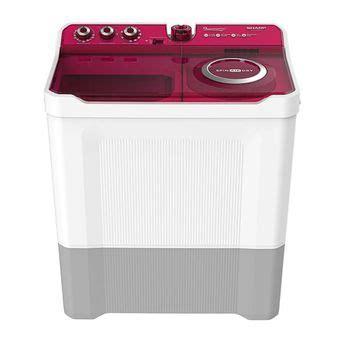 Warna kabel mesin cuci sharp. Sharp Mesin Cuci ES-T1270SJ - 2 Tabung - 12 kg - Warna ...