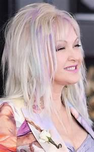 Best Light Pink Hair Dye Cyndi Lauper From Best Beauty At The Grammy Awards 2018