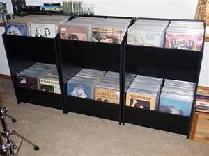 Record Album Storage Cabinet With Nice Record Album