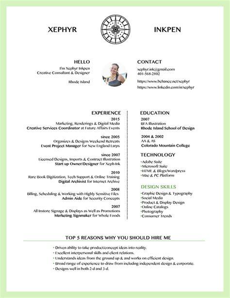 creative consultant resume on risd portfolios